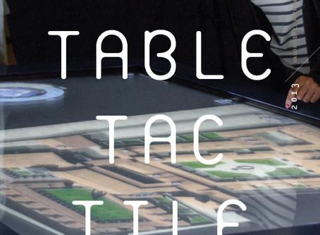 Table tactile de la Chartreuse