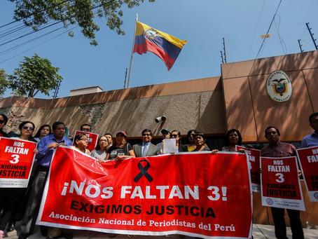 ANP exige a Ecuador justicia frente al asesinato del equipo de El Comercio