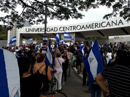 En Nicaragua, periodistas exigen el cese de la violencia contra comunicadores