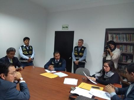 """Autoridades peruanas intentan violentar el """"secreto profesional"""""""