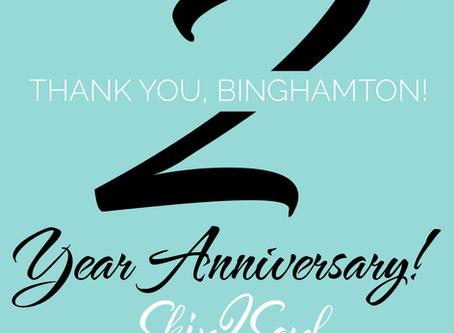 Binghamton 2 Year Anniversary