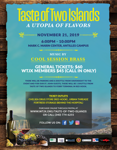 Taste of Two Islands A Utopia of Flavors St John St Thomas