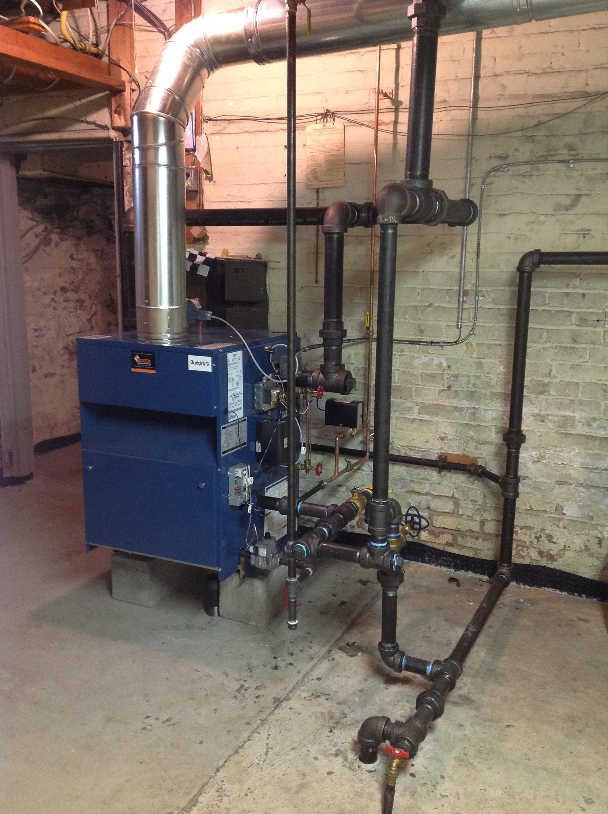 Dunkirk | Steam Boiler Installation