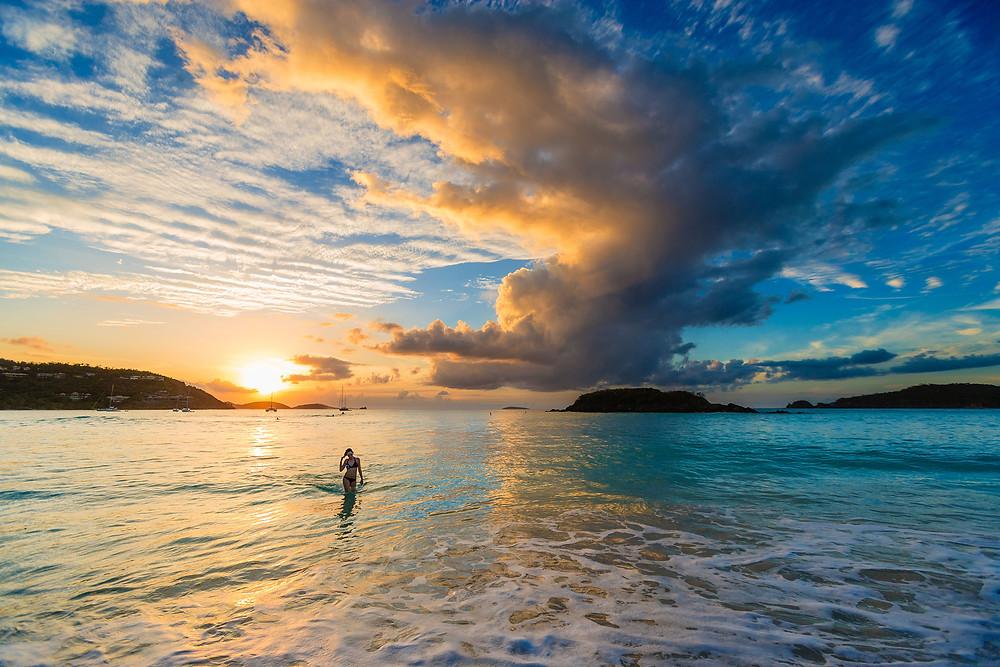 Cinnamon Bay St. John US Virgin Islands USVI Rental Villa Family Vacation Destanation Getaway
