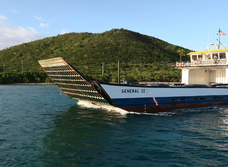 Car Barge Ferry Services STT to STJ