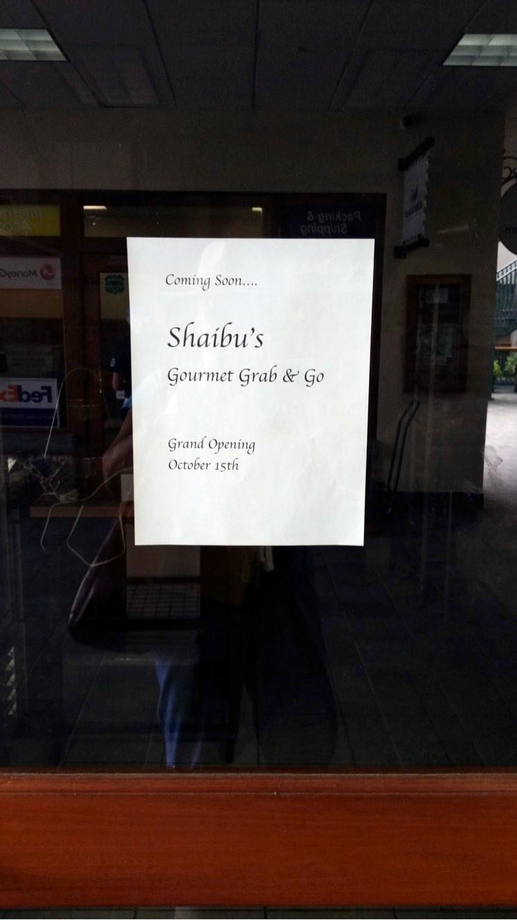 Shaibu's Gourmet Grab & Go Food