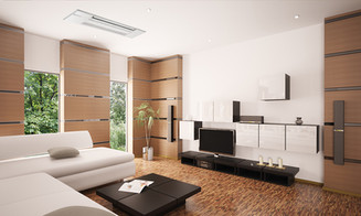 Mitsubishi Electric Ductless Mini-Split Heating & Cooling Ceiling Cassette
