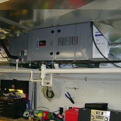 Horizontal Furnace & Air Conditioner