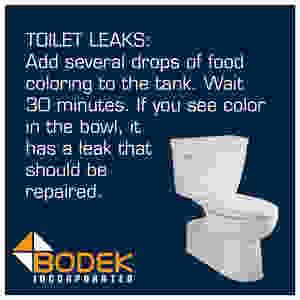 Tip Toilet Leaks