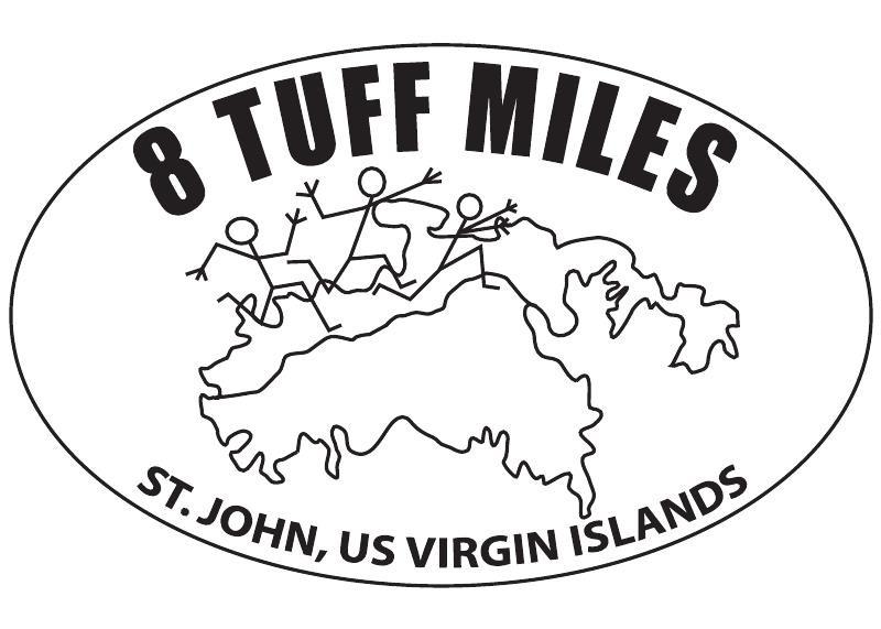 The 8 Tuff Miles Road Race St John USVI