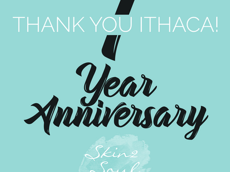 Our 1 Year Ithaca Anniversary