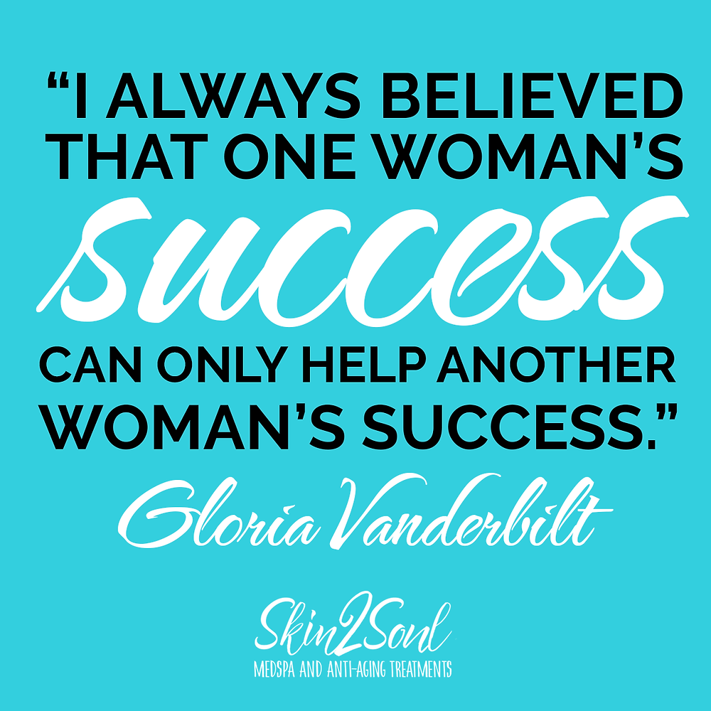 Woman's Success Support Skin2Soul