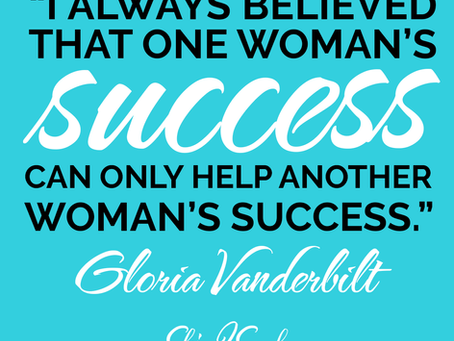 Help Another Woman's Success