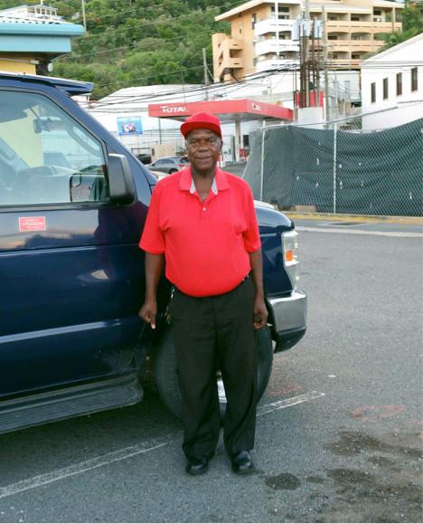 Calvin Hamm Taxi Driver St. John