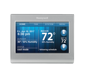 Honeywell WiFi programmable thermostat for home energy savings