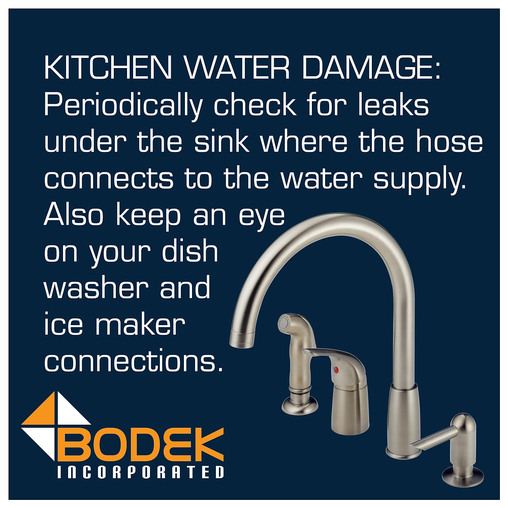 Avoiding Kitchen Water Damage