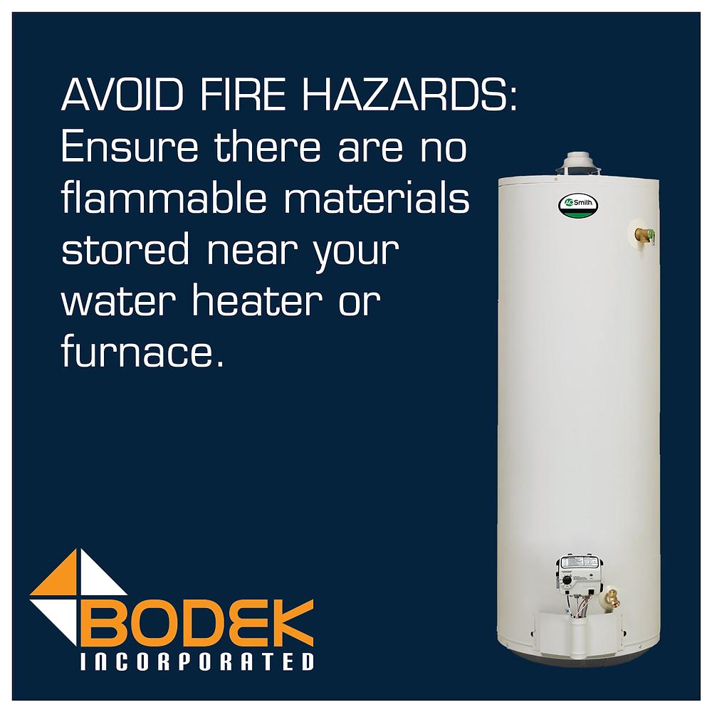 Tip Avoid Fire Hazards