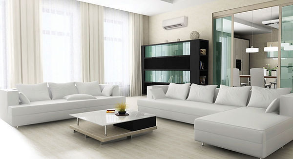 Mitsubishi Ductless Wall Unit Cooling and Heating Home