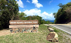 Virgin Islands National Park St. John USVI U.S. National Park Land