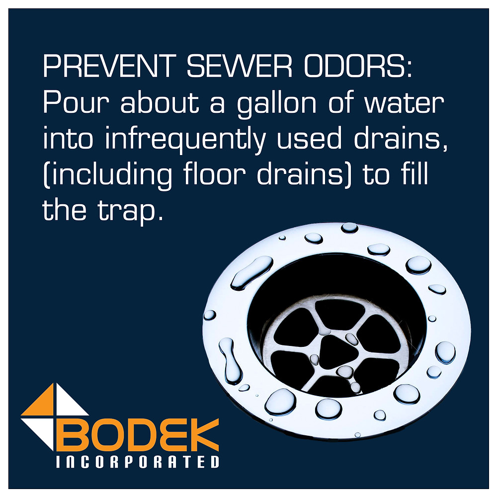 Tip Prevent Sewer Odors