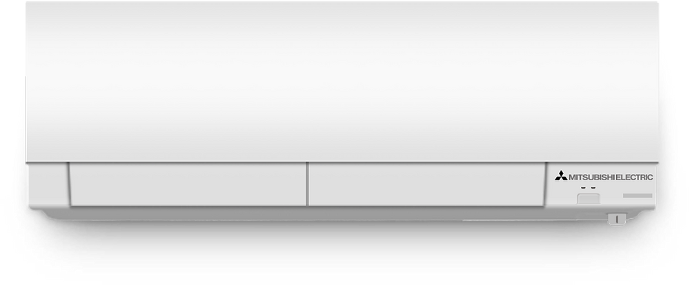 Mitsubishi Ductless Air Conditioning and Heating Wall-Mounted Unit