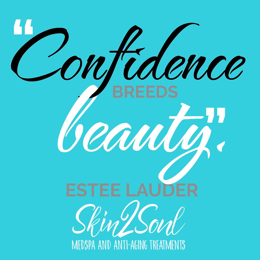 Confidence Breeds Beauty Estee Lauder Skin2Soul