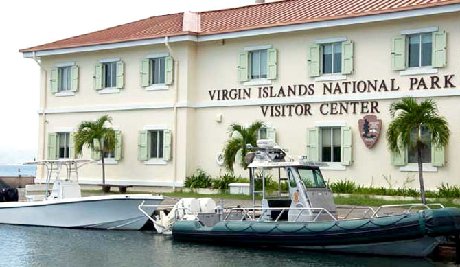 Virgin Islands National Park Visitor Center St. John STJ USVI