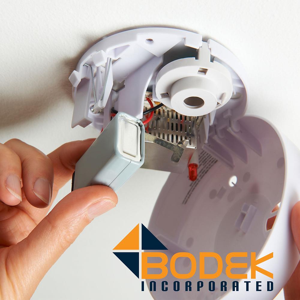 Replace smoke detector batteries every daylight savings time
