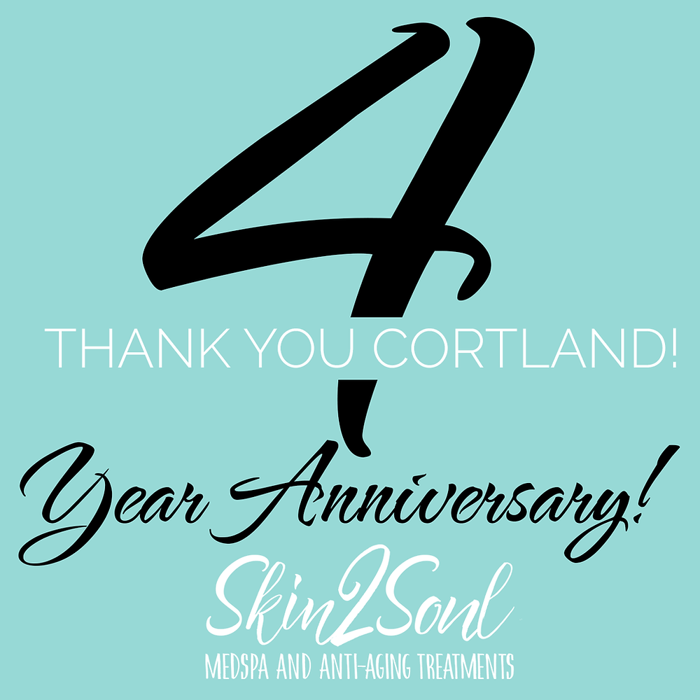 Skin2Soul MedSpa 4 Year Anniversary Cortland, NY