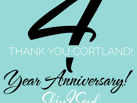 Cortland 4 Year Anniversary
