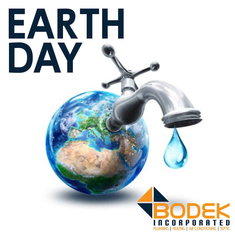 Earth Day 2018 Plumber Conserve Water