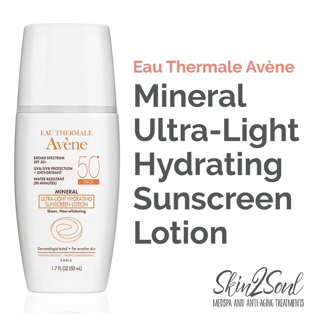 Avene Hydrating Sunscreen Skin2Soul