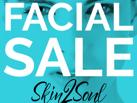 Sale on Professional Facials