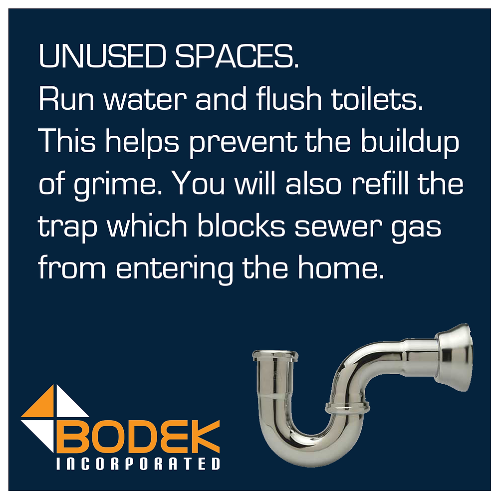Trap Water Sewer Gas Unused Bathroom Sink Toilet