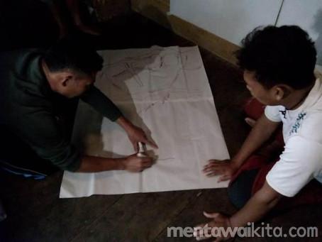 YCMM Latih Masyarakat Adat Lakukan Pemetaan Partisipatif Wilayah Adat