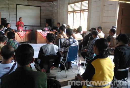 Pemdes Saumanganya dan YCMM Akan Petakan 13 Dusun, Sebagian Diusulkan untuk Hutan Adat