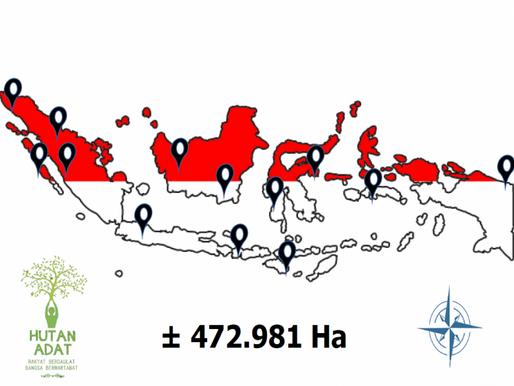 Sebanyak 12 wilayah adat uma di Kepulauan Mentawai seluas 10.999,70 hektar masuk dalam peta wilayah