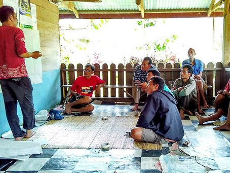 YCM Mentawai Sosialisasikan Pemetaan Wilayah Adat di Rogdok