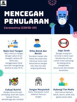 Mencegah Penularan Covid-19