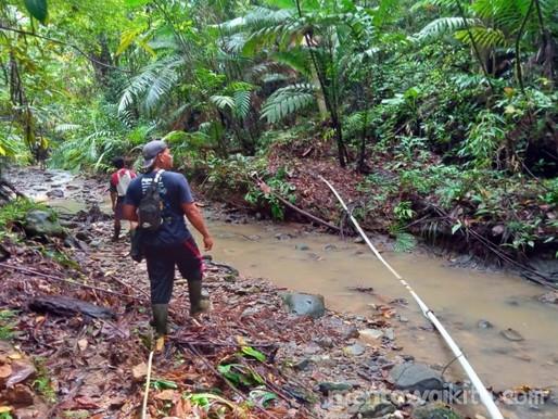 Air Pamsimas di Saumanganya Keruh, Diduga Karena Aktivitas Penebangan PT. MPL di Hulu