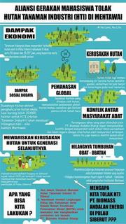 Hutan Tanaman Industri (HTI) di Mentawai