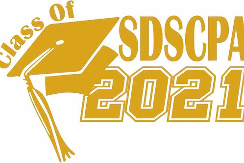 SDSCPA Grad Class of 2021-2023 Decal