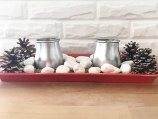 DIY Navideño: Centro de mesa