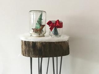 DIY Navideño: Tarro decorativo