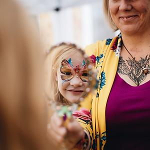Colour Craze - Face Painting & Glitter body art