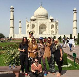 Taj Mahal India trip