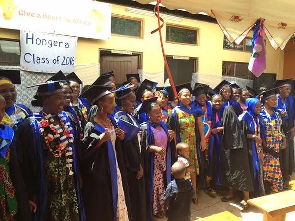 Graduatin Ceremony in Moshi, Tanzania