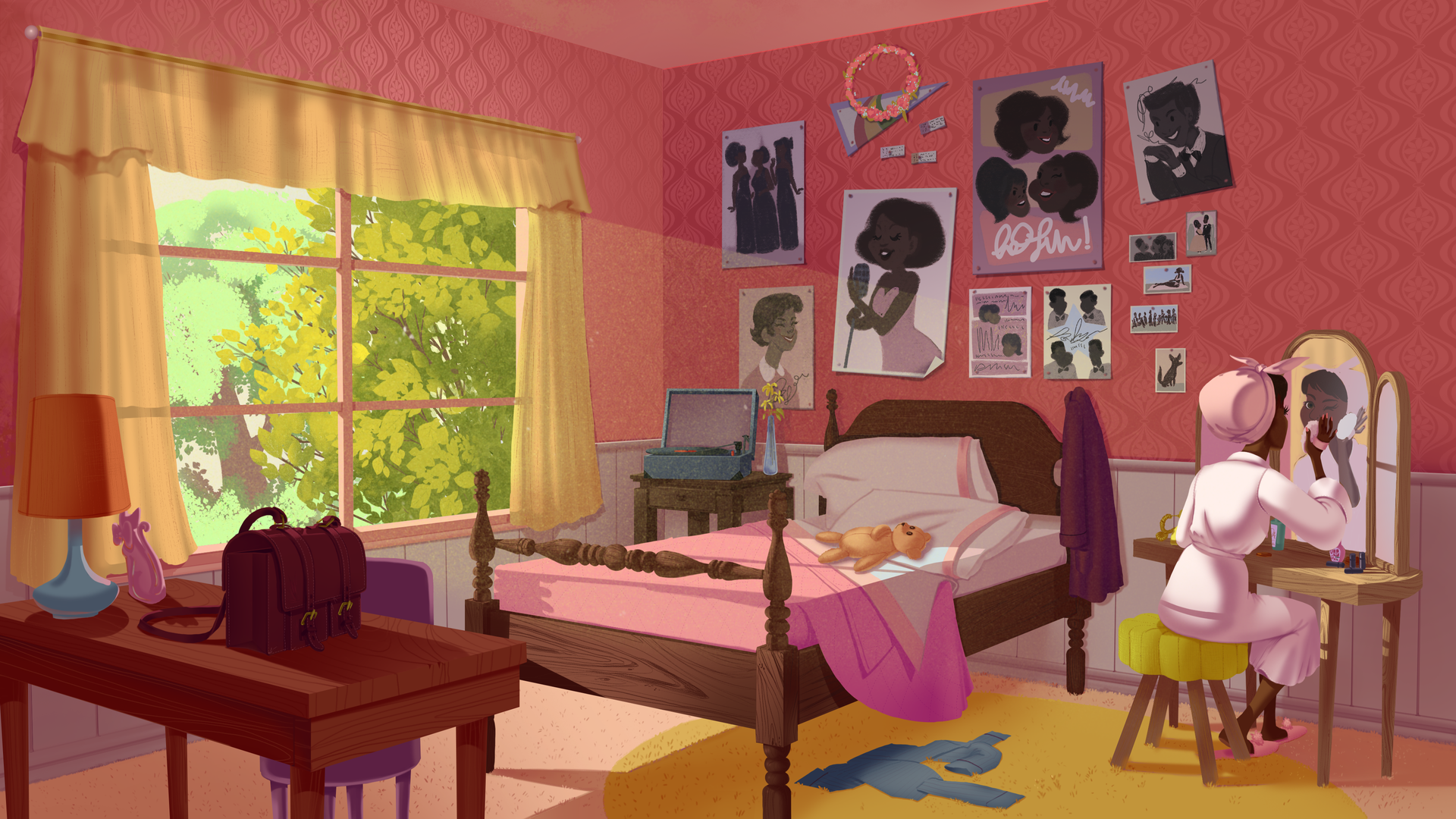 Morning in Dorothy's Room