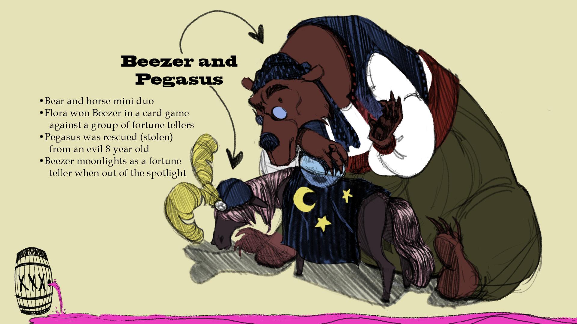 Beezer and Pegasus