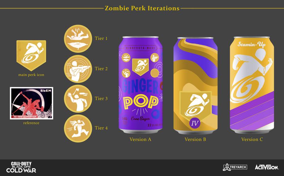 Zombie Perk Iterations
